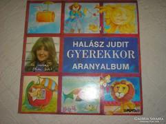 Halász Judit bakelit lemez dupla album