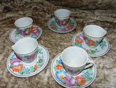 10 db-os Kínai porcelán teáskészlet