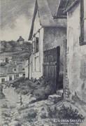 """Magyar művész : """"Tabán"""" 1929"""