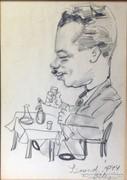 Szegedi művész, 1944 : Jó bor, jó egészség