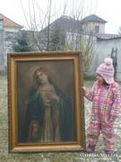 Hatalmas méretű Szűz Mária festmény