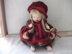 Antik zenélő porcelánbaba eladó!Csáki baba.