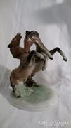 Unterweissbach porcelán lovak