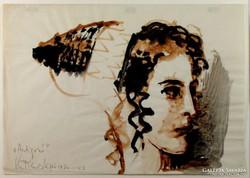 """Vinkler László : """"Antigoné"""" 1974"""