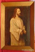 Munkácsy Mihály híres képéből jelenet -Jézus Pilátus elött