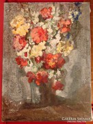 Tscheligi Lajos / Virágköltemény -pompázatos kvalitásos mű