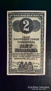 Sopronnyék 2 korona 1916.Ritkább tipus.