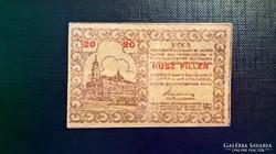 Pécs 20 fillér 1919.