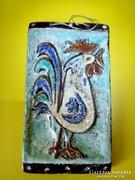 Borsódy Ágnes kerámia falikép fali dísz