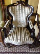 Antik bécsi barokk fotel