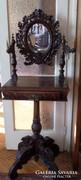 Faragott fésülködő asztal