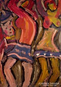 """Németh Mikós (1934-2012)  """" Táncosnők """""""