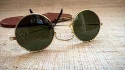 Retro John Lennon napszemüveg okulárébőr tokjában
