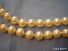 U1 lüszteres csodás gyöngysor 75 Cm