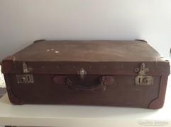 Két rekeszes bőrönd