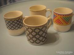 4db porcelán  mokkás csésze,U13