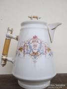 XIX. század végéről porcelán kávés kiöntő