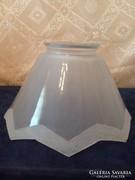 Antik Opál Asztali vagy fali Lámpa Búra