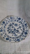 Meissen hagymamintás tányér