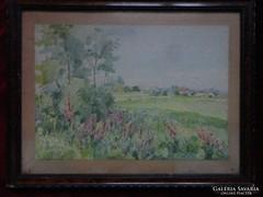Zorkóczy Gyula eredeti festménye!