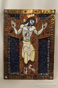 Tarai Teréz mozaik fali kép