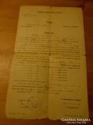 Állampolgársági eskütétel jegyzőkönyve 1927.