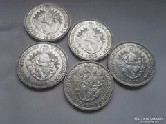 Szép Ritkább ezüst 2 Pengő LOT