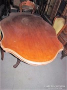 Barokk asztal + 6 db szék