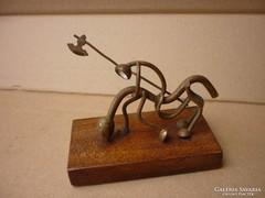 ART-DECO réz szobor