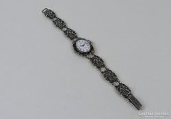 Antik ezüst női óra