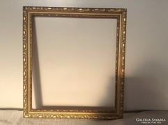 Arany- fa vágható képkeret falc:35,5x31,5cm