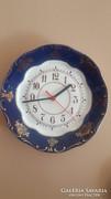 Zsolnay pompadur 1 es tányér óra