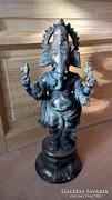 Bronz szobor indiai Ganésa