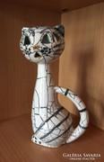 Art deco retro cica hibátlan