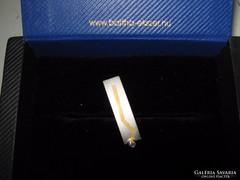 Arany-platina női medál briliánssal