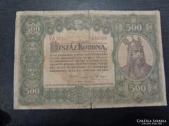 1920 500 Korona Nagyalakú, F tartás