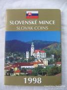 Szlovák Banki Forgalmi sor 1998 !