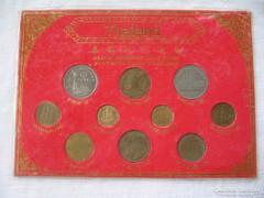 Thaiföld érmesorozat 1957-1996!