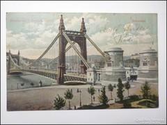 Budapest Erzsébet híd 1917