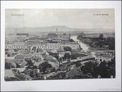 Esztergom látkép 1916