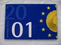Holland Banki csomagolású Gulden Sor 2001 !!!!