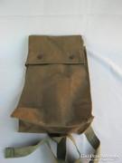 Retro vászon katonai táska