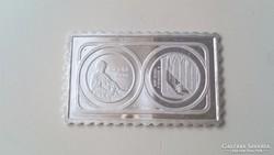 Ezüst bélyeg érme (PV.835.) Bartók Béla