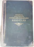 Ritka Andrees Handatlas 1904
