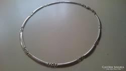 Ezüst nyaklánc, nyakék 925