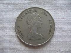 Kelet Karibi Államok 25 Cent 1987