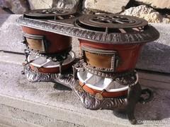 Csodás Viktoriánus olaj petróleum melegítő  tűzhely kályha