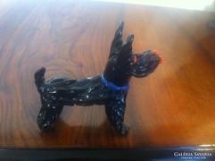 Kézzel készített üveg kutya (gs0079)