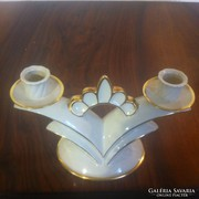 Art deco porcelán gyertyatartó (gs0094)