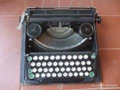 Írógép, Continentál eredeti fa dobozában